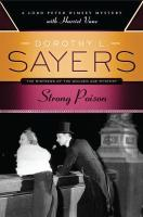 Strong Poison: A Lord Peter Wimsey Mystery with Harriet Vane