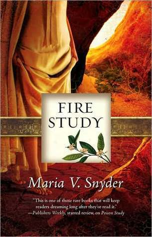 Fire Study by Maria V. Snyder