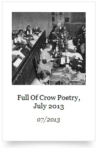 Full of Crow Poetry - July 2013
