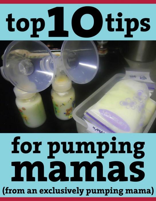 Pumping Milk Tips