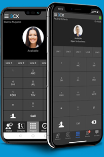 Your office can be anywhere with the 3CX Apps