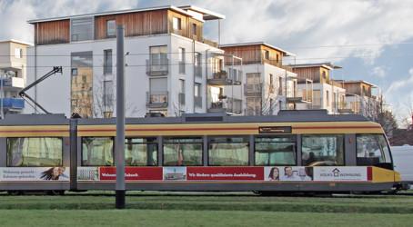 Straßenbahngestaltung für die VOLKSWOHNUNG