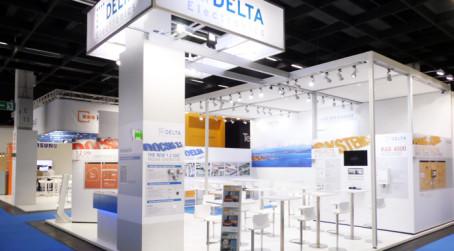 Messestand für DCT Delta