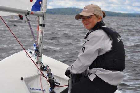 Pris till Årets unga seglare