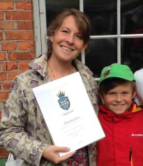 Blåskal utsedda till Västsvensk mat- och hållbarhetshjälte