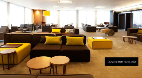Business & Objekt: BoConcept im Business-Bereich