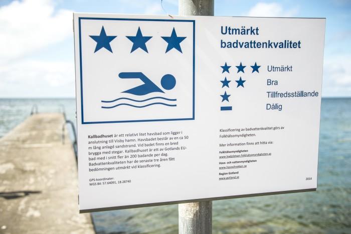 Kvalitet badvatten Europa