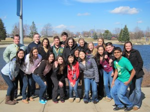 participants in the leadership conference