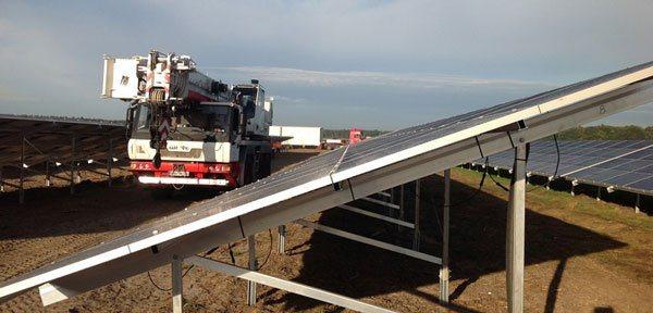 Neuhardenberg: La planta de energía solar mas enorme de Alemania