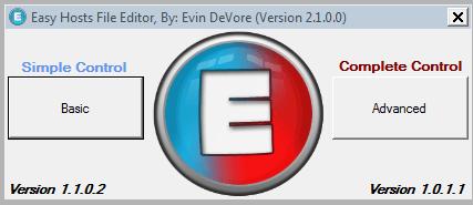 Easy Hosts File Editor: Edita archivos Hosts