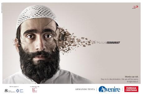 words kill & terrorist