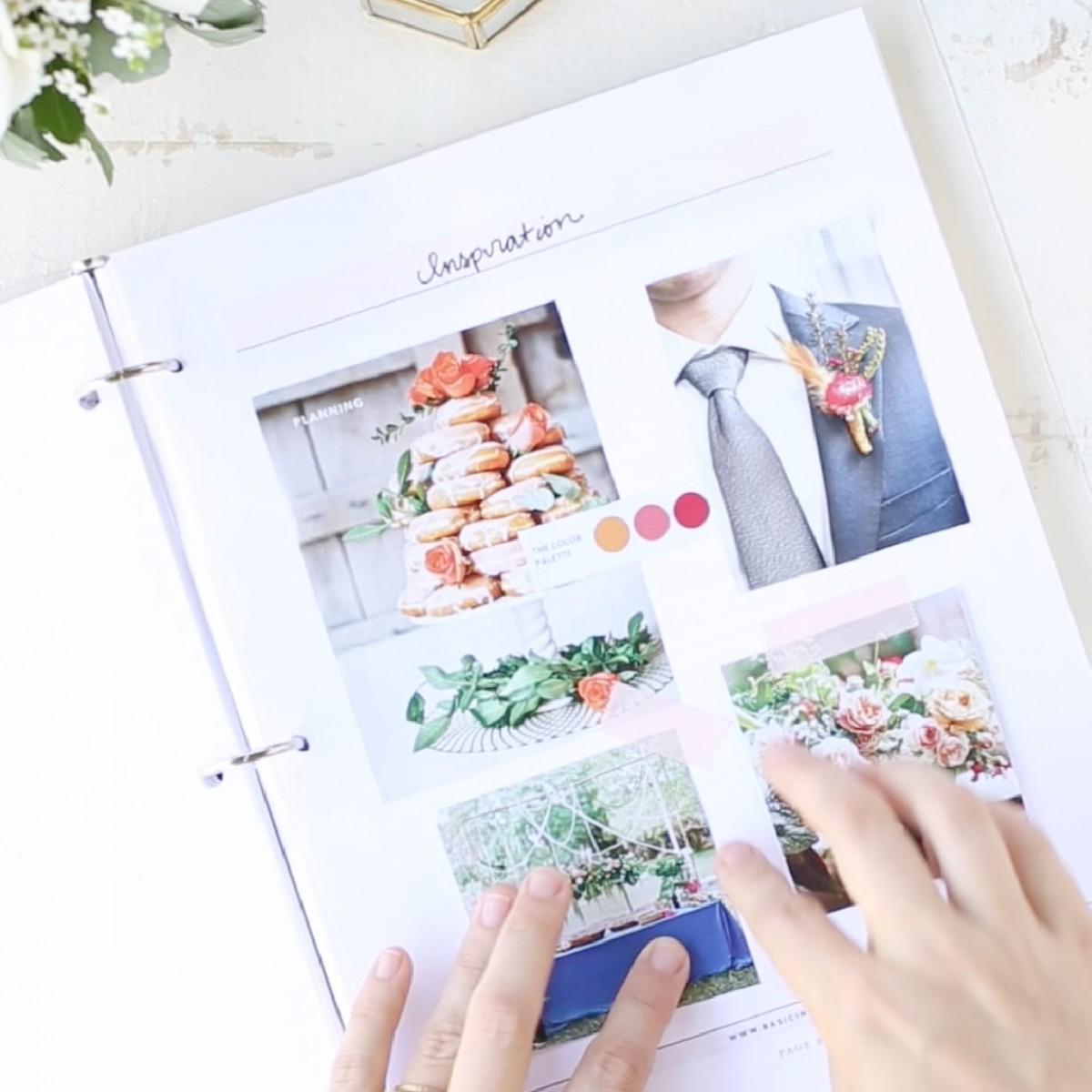 Wedding Planner Printable By Basic Invite
