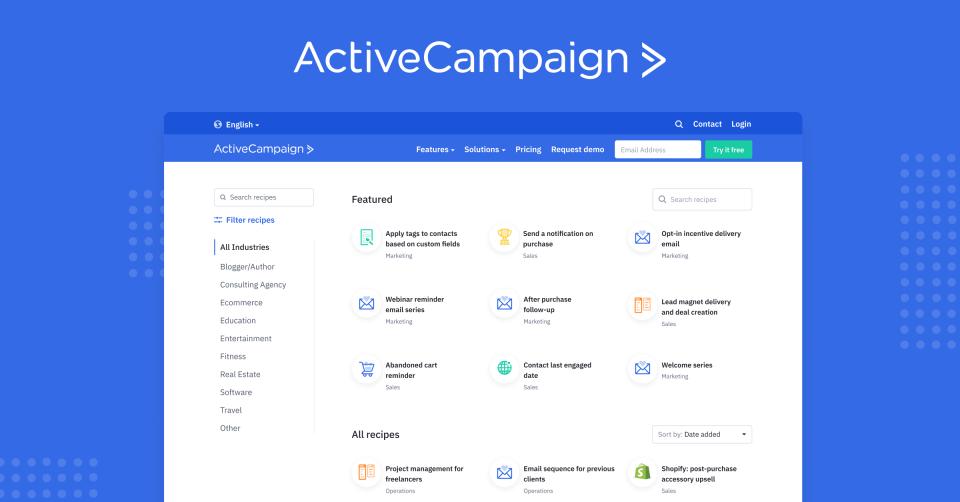ActiveCampaign Marketplace