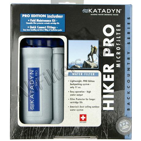 Katadyn Hiker Pro Water Filter Pump Filter ON SALE