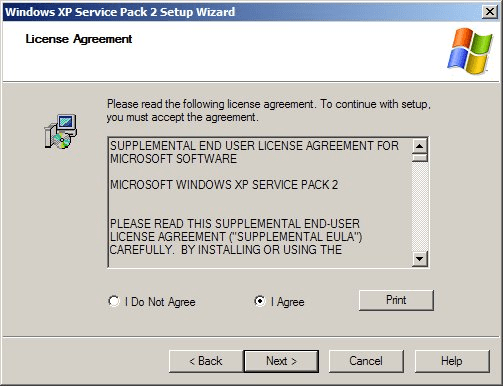Risultati immagini per service pack xp