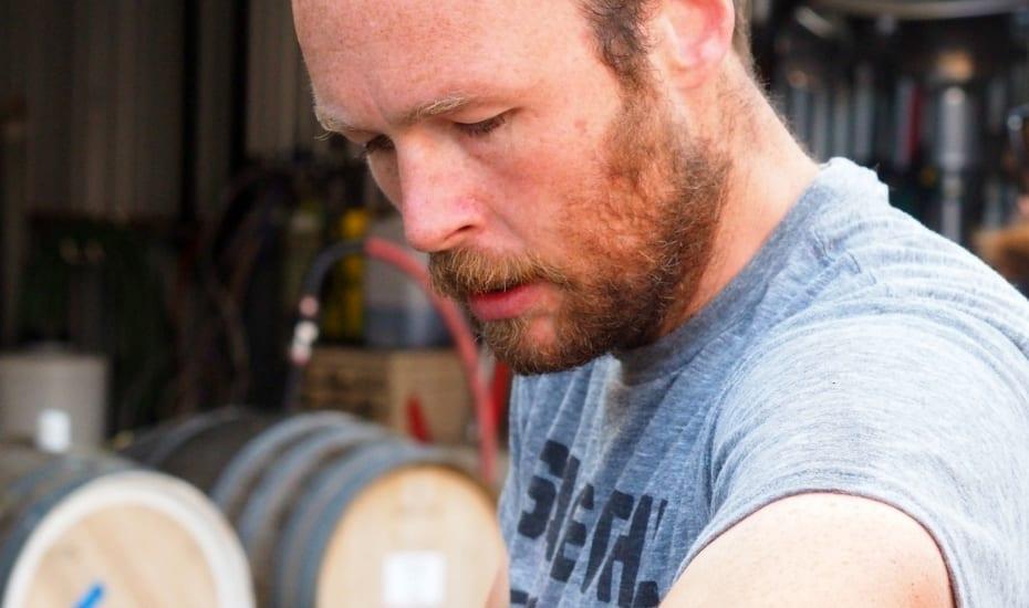 Rob Mack winemaker Aphelion Wine Co making wine