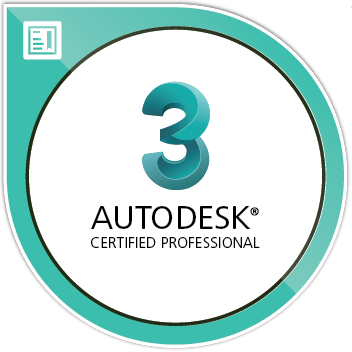 Autodesk Certified Professional 3ds Max Image