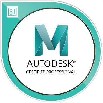 Autodesk Certified Professional Maya Image