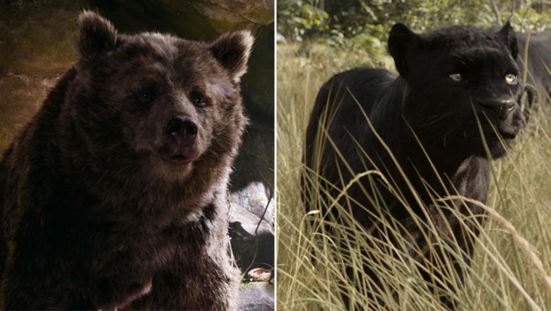 Character Close Up The Jungle Book S Bagheera And Baloo D23