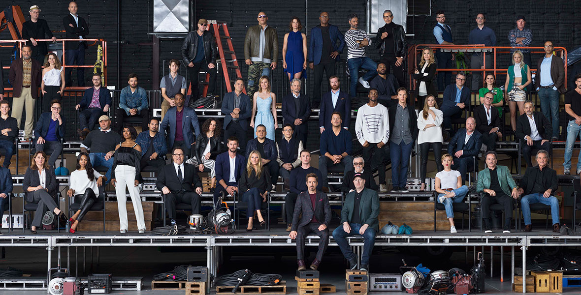 Celebrate 10 Years Of The MCU With This Class Photo Of