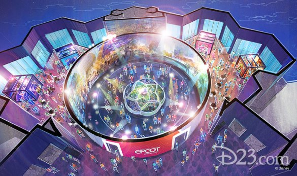Walt Disney Imagineering presents the Epcot Experience, opening in October 1, 2019