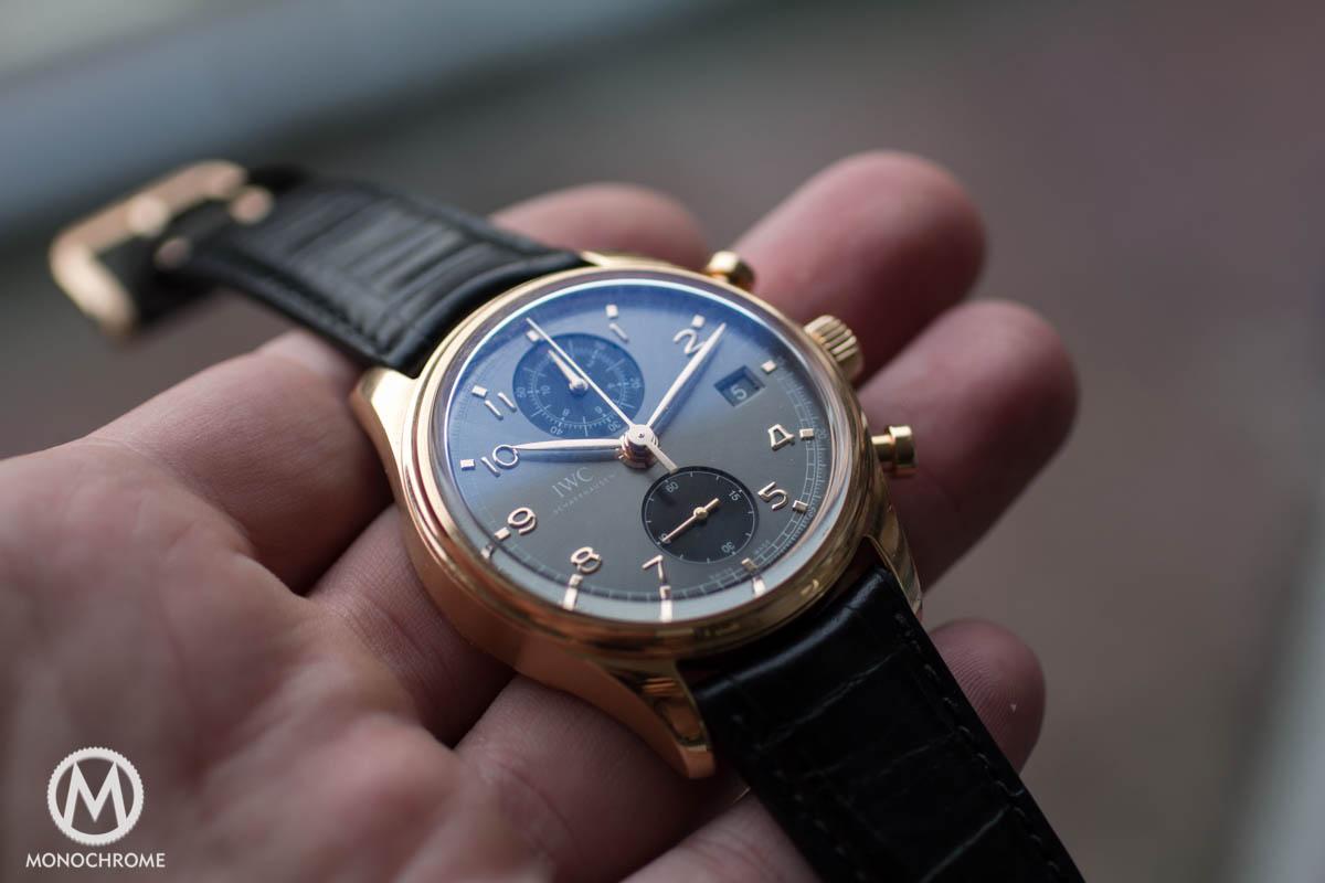 REVIEW IWC Portuguese Chronograph Classic Ref 3904