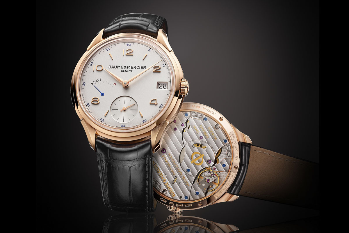 Baume & Mercier Clifton 8-Day Power Reserve - 1