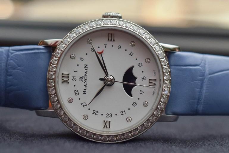 Blancpain Villeret Quantième Phases de Lune Ladies watch
