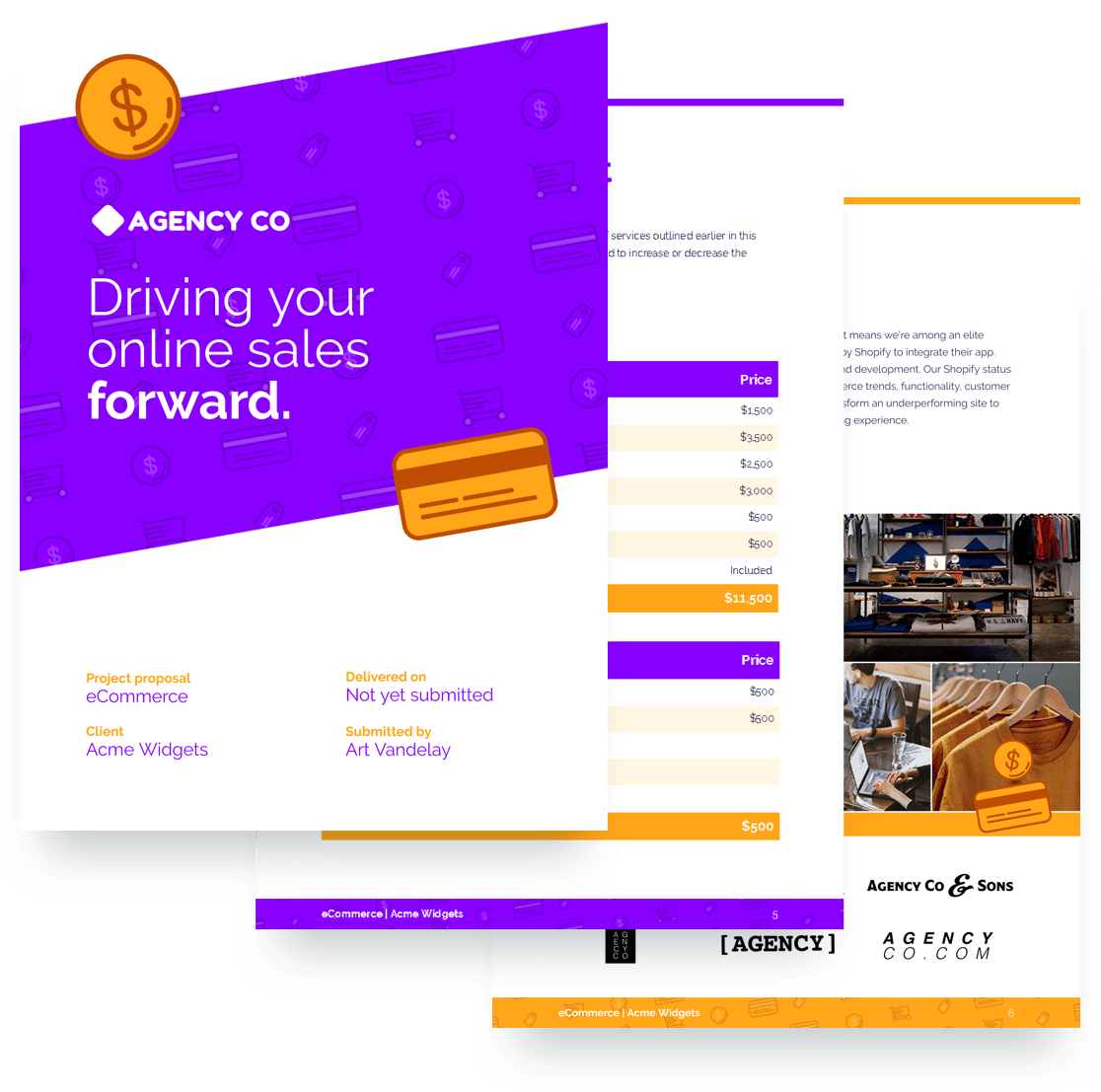 Ecommerce Proposal Template Free Sample Proposify