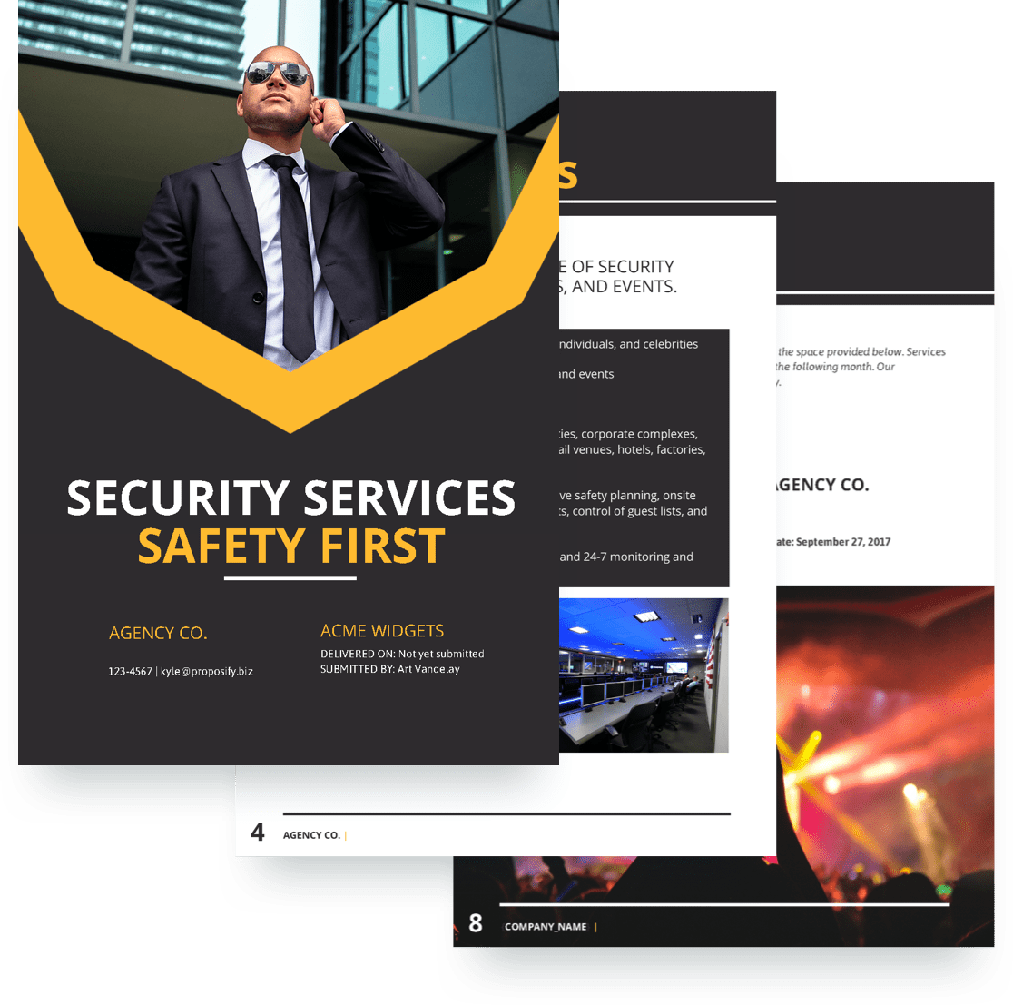 Event Security Proposal