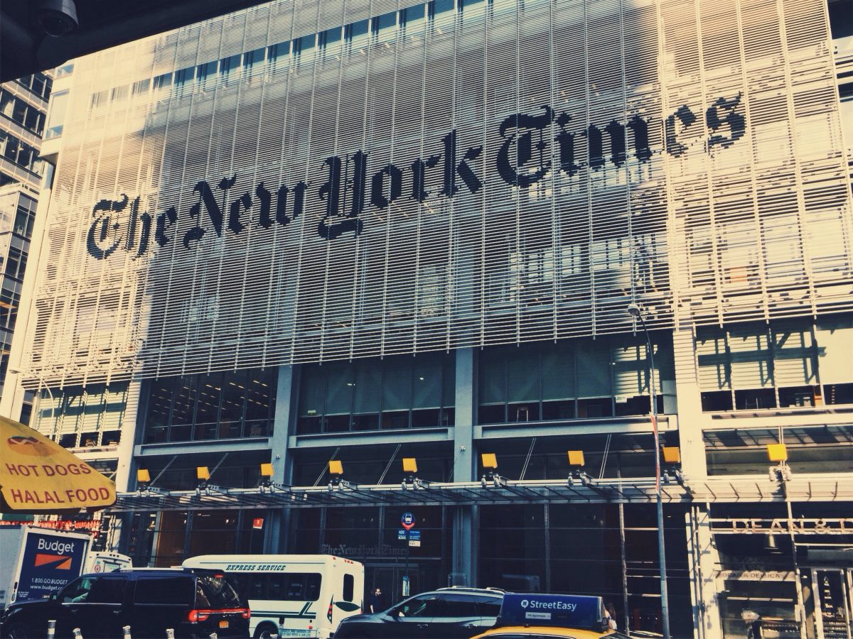 The New York Times Comes Out Against Free Speech