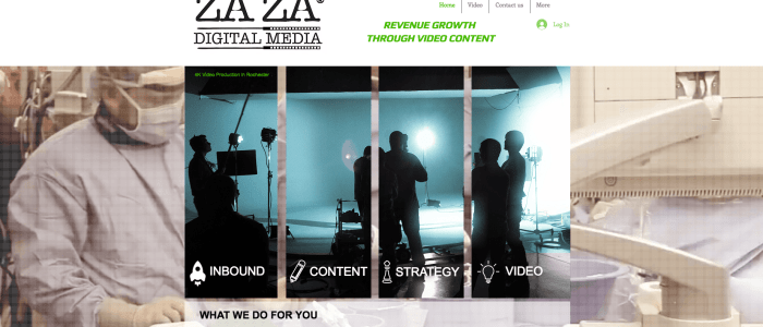ZAZA Digital Media screen shot