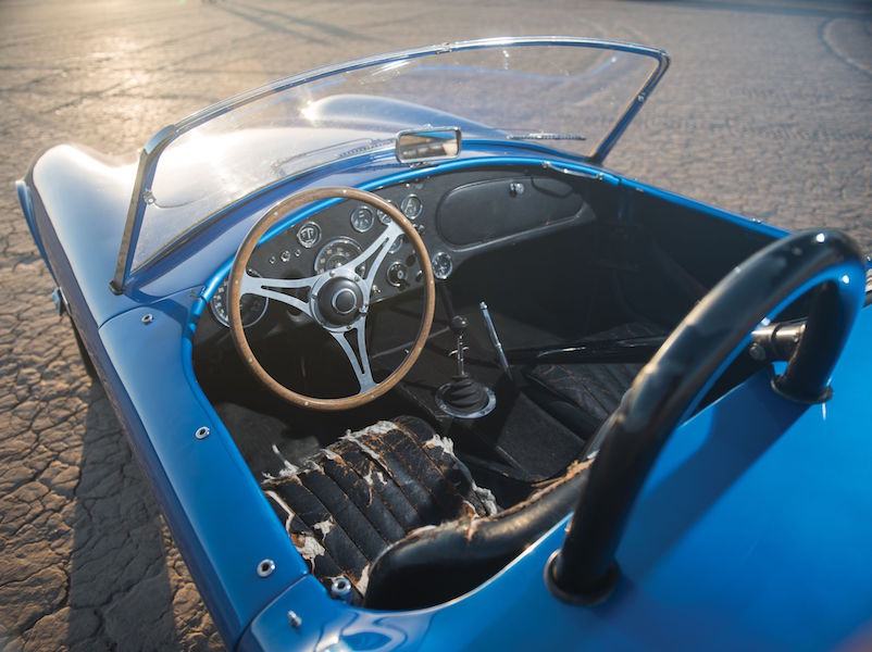 First Shelby Cobra Ever Built Breaks Auction Records at Monterey