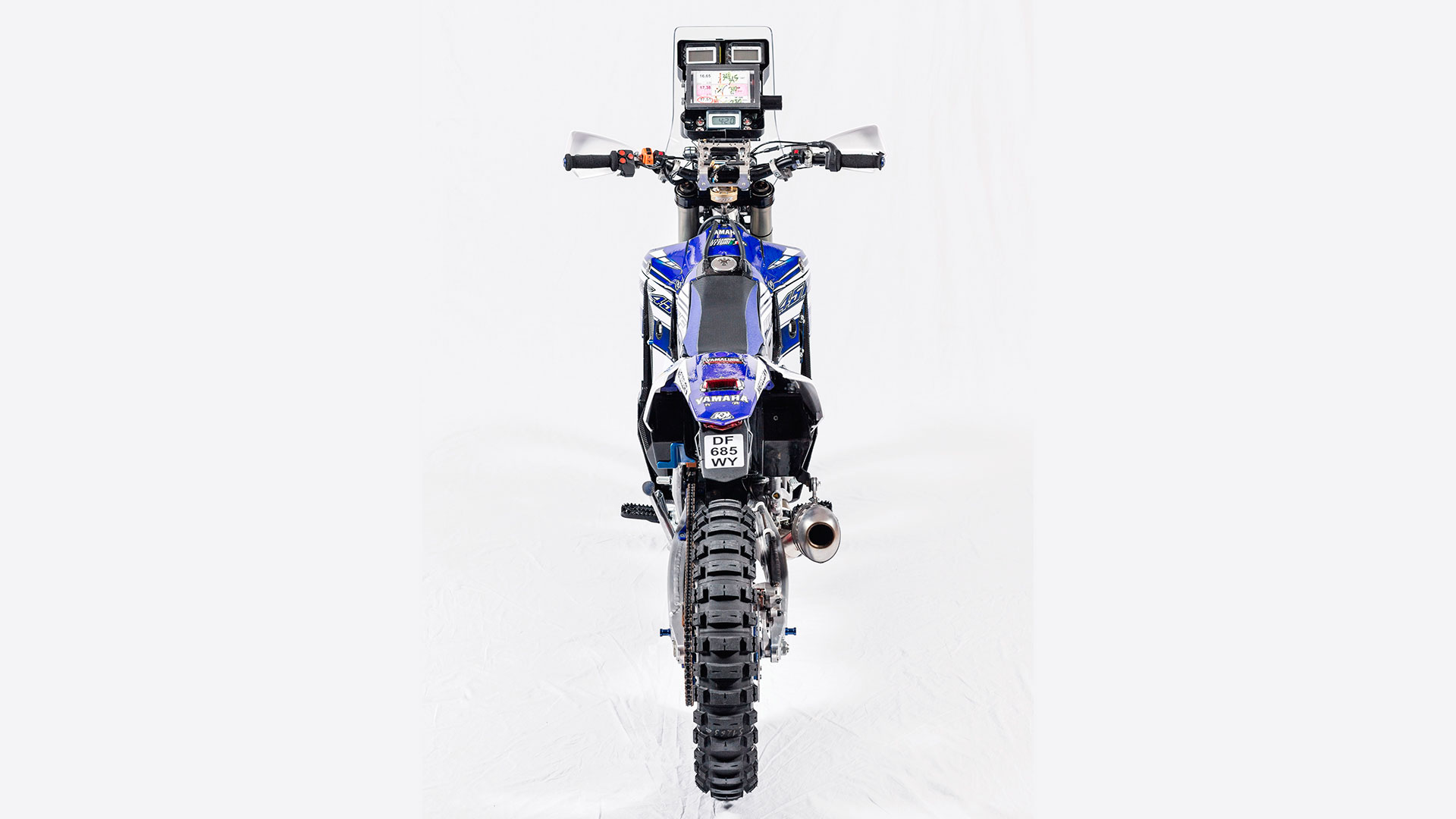 Yamaha Unleashes Wr450f Dakar Rally Weapon