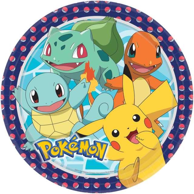 27 Pokémon Meister Pappteller 27cm  Party.de