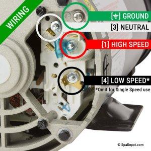 3 HP Hydromaster Hot Tub Pump & Motor  220240V | SpaDepot