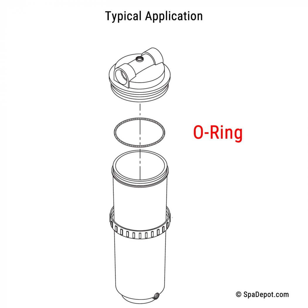 Hot Tub Filter Canister O Ring