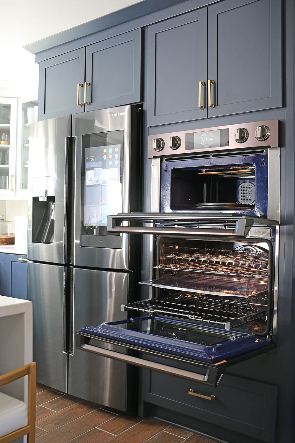 built in oven and microwave combo