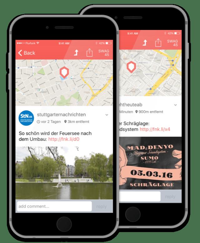 Flurfunk-App