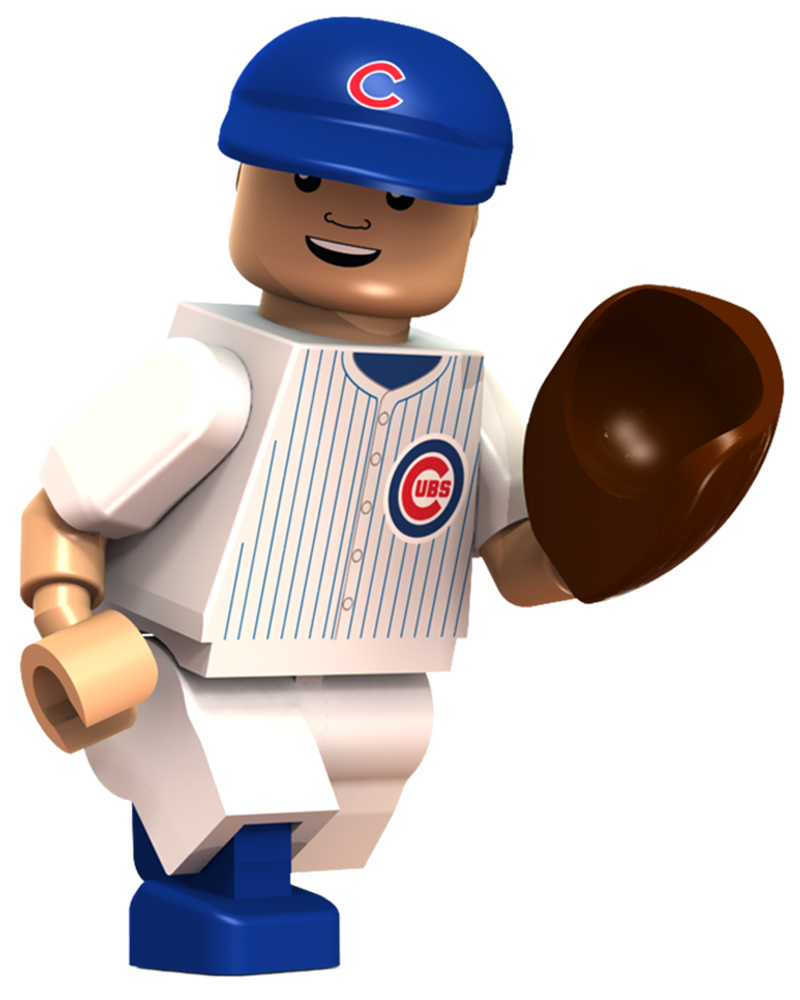 Ryne Sandberg  Chicago Cubs   OYO Sports   MLB Minifigures   Buildables ADDITIONAL IMAGES