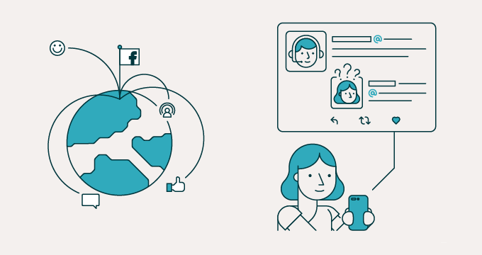 نتيجة بحث الصور عن importance of the social networking sites of the sales representative