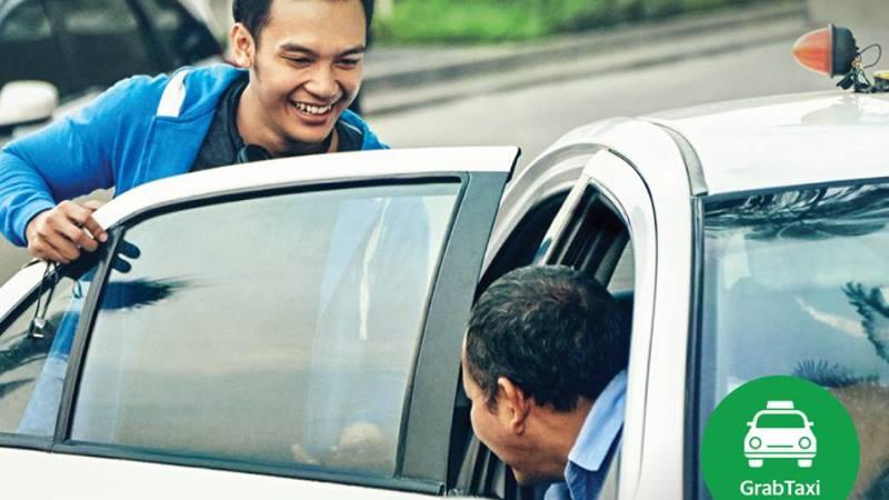 GrabTaxi dengan Taksi Express | Foto