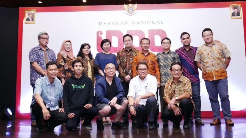 Peluncuran Gerakan Nasional 1000 Startup Digital   Foto