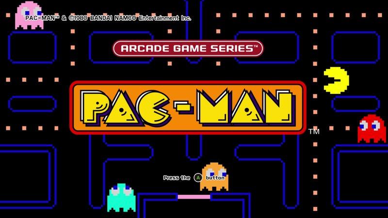 PAC-MAN Arcade Game Series | Screenshot