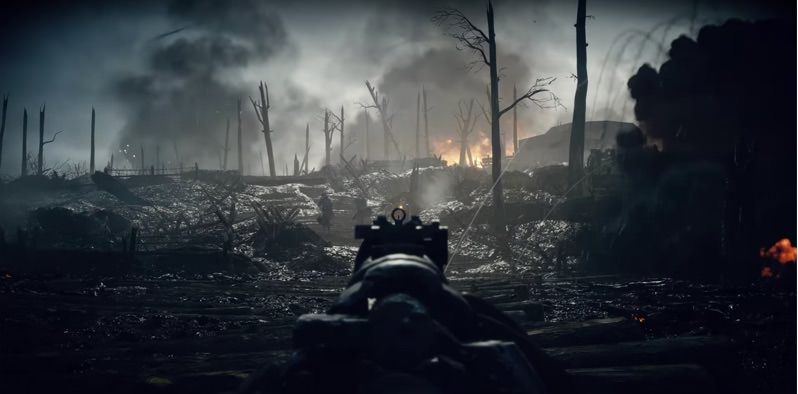 Battlefield 1 Campaign Single Shooter