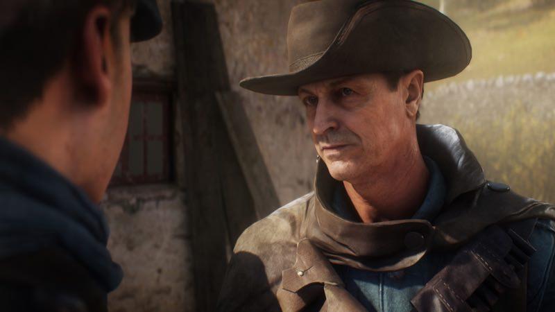 Battlefield 1 Ekspresi Karakter