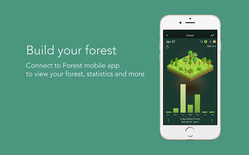 Chrome Extension - Forest