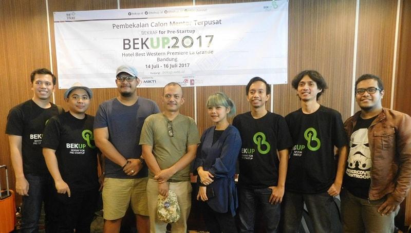 Koordinator Mentor BEKUP 2017   Photo