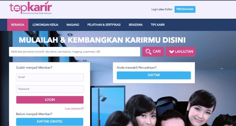 Top Karir | Screenshot