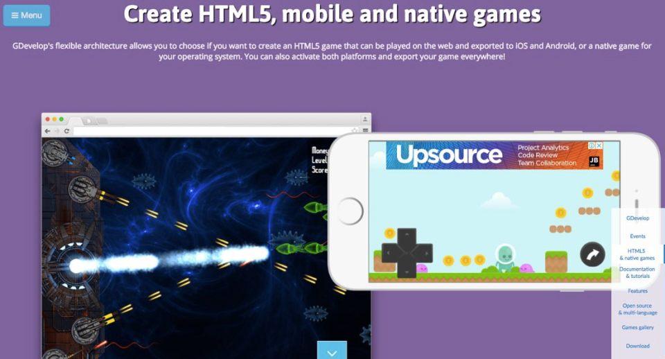 GDevelop | Screenshot